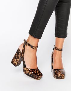 Image 1 of ASOS PENTAGON High Heels