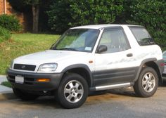 toyota Rav4 L 2dr manual