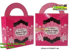Paper Box Sweet Pink WA : 0857-2963-7569 WA/SMS/Telp : 0896-296-77-660  PIN BBM : 7C 566 DEC #paperbox #paperboxmurah #paperboxcantik #jualpaperboxmurah #jualpaperboxunik #kemasanpaperbox #paperboxgrosir #grosirpaperboxmurah #jualkemasanpaperbox #kemasanpaperboxgrosir  #PaperBox #PabrikBox #ContohUndangan #desainundanganPernikahan