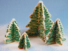 Get Christmas Tree Cookie Forest Recipe from Food Network