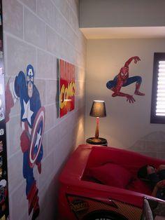 """Habitación infantil """"Superhéroes"""" (3) A Beatriz Arizmendi"""