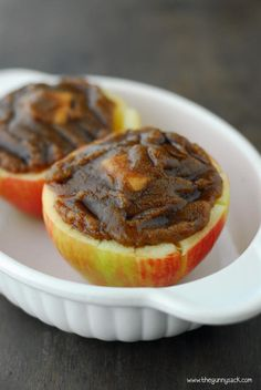Baked Apples.  Looks like this could be converted to an aluminum foil recipe for camping.