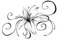 Lily Tattoo by ~meripihka on deviantART