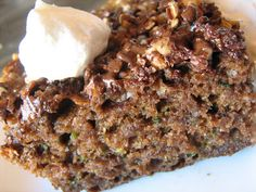 Low-Fat Spice Cake with Maple Cream With the right ingredients ...