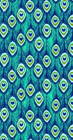patterns.quenalbertini: Peacock feather pattern | coquita