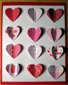 Image result for Ideas for layered valentine cards