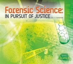 History and invention of forensic science, featuring key scientists and landmark cases. Ages 12+.