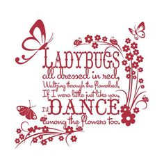 Image result for ladybug sayings