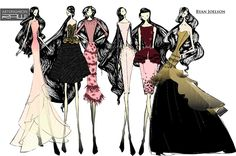 betsey johnson fashion illustration - Google Search
