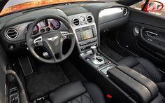 Bentley Continental GTC Speed Interior