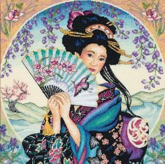 Geisha Cross Stitch Patterns