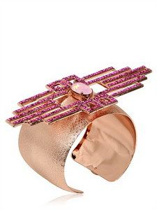 Halaby - Fuchsia Piaf Bracelet   FashionJug.com