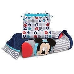 Mickey Mouse Best Buddies Crib Bedding Set | Disney Store