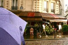 The first folding umbrella was made at May 4, 1715 in Paris, . Today, folding umbrellas are not like surprise in therain,Everyone knows the rain in Paris is  so beautiful