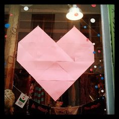 Vitrine Saint-Valentin 2014 pour Lilli Bulle