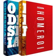 Submarino - Livro Box Odisseia e Ilíada (2 Livros) R$27,61 no boleto + frete