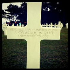 Everyone should go to the beaches of Normandy and spend a day there in reflection and meditation. It will change your perspective forever. So blessed to have had that experience.