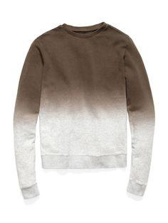 Dip-Dyed Sweatshirt by Robert Geller