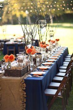 What's Pinteresting This Week? Orange and Navy Combinations - Kenya Weddings : Wedding Gowns   Venues   Planners   Honeymoon...and more - Get Inspired