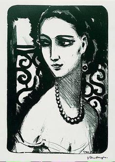 Kees van Dongen「Le Collier De Perles」(1924)