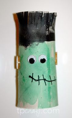 Halloween toilet paper tube crafts