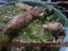 Cumi Asin Sambel Ijo #DapurKeNai #Food #Masakan #Makanan #IndonesianFood