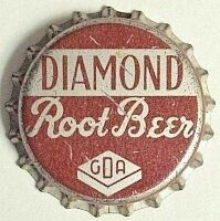 Diamond Ginger Ale Inc. Connecticut Usa, Waterbury Connecticut, Soda Bottles, Ginger Ale, Bottle Caps, Root Beer, Graphics, Vintage, Diamond