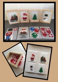 Hama Beads Patterns, Beading Patterns, Christmas Perler Beads, Diy Projects To Try, Crafts For Kids, Merry, Holiday Decor, Christmas Ideas, Hobbies