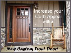 Your Home And The Best Part Is You Can Order These Custom Doors