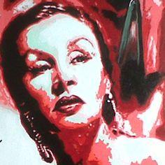 """Tita"" con esmaltes – Pinturas Eterna Halloween Face Makeup, Portrait, Tattoos, Base, Color, Enamels, Artworks, Paintings, Illustrations"