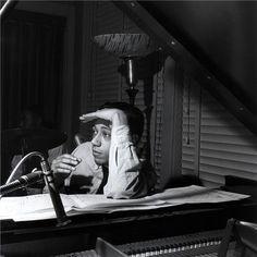 Francis Wolff | Horace Silver, Hackensack, NJ 1956