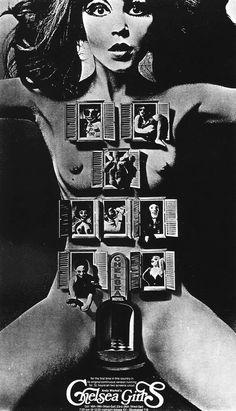 60s to 80s design / Poster for Andy Warhol s film Chelsea Girls 1967. Design: Ink Studios, Alan Aldridge.
