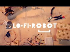 LOFI Robot Robot construction kit based on lasercut wooden blocks, Arduino and Scratch