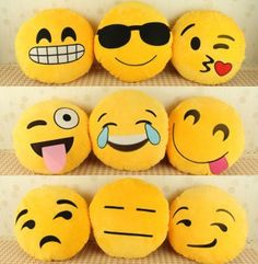 DIY Emoji Pillows #Various#Trusper#Tip