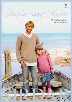 Simple Easy Knits - Discover more Books by Sirdar at LoveCrafts. From knitting & crochet yarn and patterns to embroidery & cross stitch supplies! Shop all the craft materials you need to start your next project. Sirdar Knitting Patterns, Easy Knitting, Knit Patterns, Baby Girl Jackets, Pretty Kids, Cross Stitch Supplies, Yarn Colors, Pattern Books, Crochet Yarn