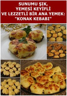 An epic kebab recipe fried like a pomegranate, with a sweet mash inside … Iftar dishes, bakery dishes, Ramadan iftar … Mince Dishes, Oven Dishes, Italian Chicken Recipes, Meat Recipes, Eggplant Dishes, Turkish Recipes, Vegetable Dishes, Easy Meals, Cooking