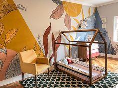 Bedroom Murals, Room Decor Bedroom, Baby Room Design, Wall Design, Wall Painting Decor, Creative Wall Painting, Baby Bedroom, Diy Home Decor, Interior Design