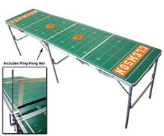 This would be a great beer pong table tailgating