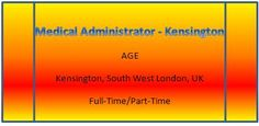 NEW JOB VACANCIES FROM AGE121...WWW.AGE121.COM/RECRUITMENT New Job Vacancies, West London, Medical, Medicine, Med School, Active Ingredient