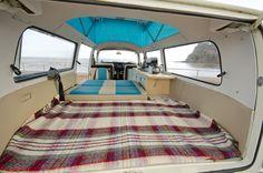 Vw Bay window full width rear bed panel