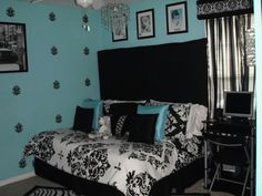 i love tiffany blue wall paint! painted my bedroom tiffany blue in ...