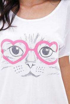 Kitty Heart PJ Set