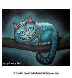 Eusebio Guerra (Blog): Cheshire Cat, Eusebio Guerra, 2010 (T-Shirt)