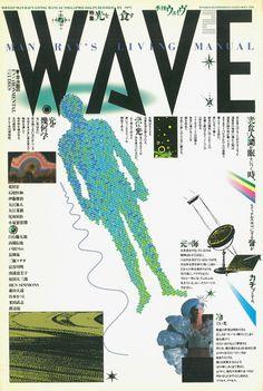 季刊WAVE 2号 光を食す 編集 :戸田ツトム AD:戸田ツトム 出版社:リブロポート 発行年:1984年
