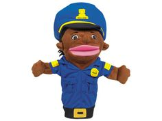 Let's Talk! Police Officer Community Helper Puppet