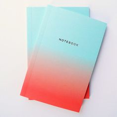 Teal Notebook Set -