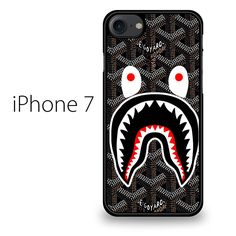GOYARD BAPE SHARK IPHONE 7 CASE