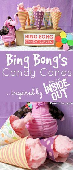 Bing Bong Candy Cone
