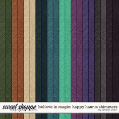 Believe in Magic: Happy Haunts Shimmers by Amber Shaw