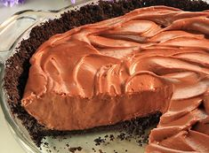 Hershey's Kitchens | Chocolate Cheesecake Mousse Pie